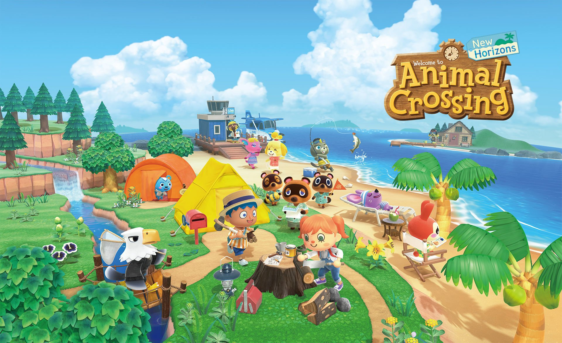 Animal Crossing: New Horizons – How to Use an Axe